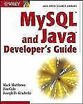 MySql and Java Developer's Guide by Mark Matthews, Joseph D. Gradecki and Jim.