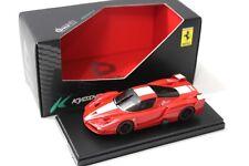 1:43 Kyosho dnano Ferrari FXX red/white New en Premium-modelcars