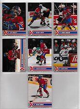 2000-01 Stadium Club Montreal Canadiens Team Set (7) Linden, Hackett Etc.