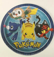 American Greetings Pokemon Party Supplies Paper Disposable Dinner Plates 8-Count
