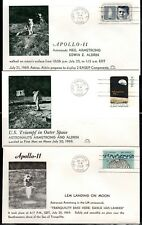 APOLLO 11 set of 6 covers by Astro Covers (set #1)