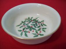 "LENOX HOLIDAY CHINA CANDY/NUT DISH 5.25"" DIAMETER  DIMENSION PATTERN NEW"