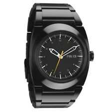 Nixon Don II Watch (All Black / Orange)