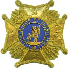 Medieval German Royal Order Nobility Four Limburg Kingdom Knight State Award
