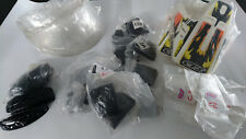LOTTO RICAMBI CASCO VINTAGE CTS  LOT SPARE PARTS HELMET CTS