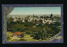 Australia SYDNEY Hyde Park from St Marys Cathedral c1920/30s? PPC
