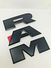 2019 Ram 2500 3500 Tailgate Emblem Nameplate Black Ram Factory Mopar New