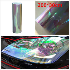 200cm Colorful Clear Car Rear Taillight Vinyl Film Headlight Cover Sticker Sheet
