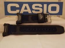 Casio Watch Band PAG-240 B-2 Patfinder Strap. Blue/Black Watchband. Strap