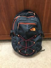 THE NORTH FACE BOREALIS BACKPACK~ORANGE/DARK GRAY~***NEW WITHOUT TAGS***