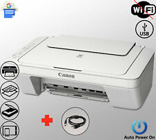 Canon Printer Scanner Copier Photo All-in-One Usb Inkjet White (Not Wireless)