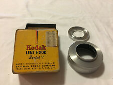 Vintage Kodak Lens Hood Series V in the Original Retail Box, incl. adapter ring