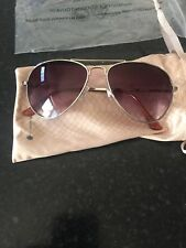 Sunglasses By Dorothy Perkins Rose Gold Brand New