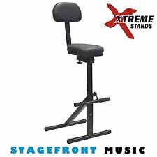HEAVY DUTY PERFORMER GUITAR STOOL. GUITARIST'S CHAIR - GS614
