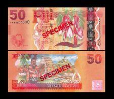Fiji 50 Dollars ND(2012) P118 UNC - SPECIMEN