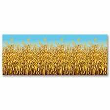 Large Photo Party Decor Wall Hanging Backdrop Blue Sky Yellow Corn Stalk Field