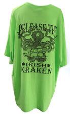 Release the Irish Kraken Savannah GA Funny Fabulous Green Tee Shirt 3XL