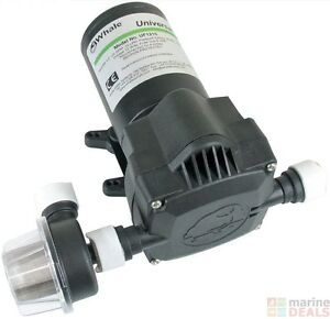 WHALE UNIVERSAL WATER PUMP 8L 12V 1bar 15PSI + STRAINER UF0812 2yr Warranty
