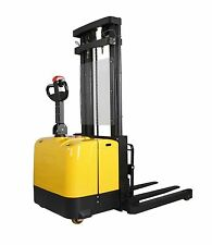 Walkie Stacker Battery Electric - 2 or 3 stage mast options - WA