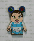 AUTHENTIC Disney Vinylmation BELLE w/Book & Rose Beauty And The Beast Series Pin