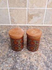 Vintage Hornsea Bronte Salt and Pepper Pots CR