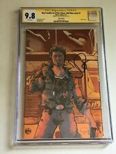 BIG TROUBLE IN LITTLE CHINA #1 CGC 9.8 Signed JOHN CARPENTER Only 1 Copy Exists