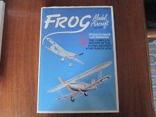 FROG MODEL AIRCRAFT BOOK