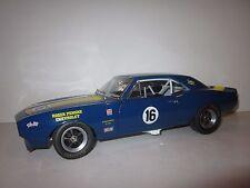 GMP 1:18 SCALE 1967 CHEVROLET Z/28 CAMARO #16 PENSKE RACE CAR BLUE/GRAY RARE!