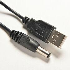 USB A Stecker auf 2,0 5,5 mm X2.1mm 80cm Stecker 5V DC Ladegerät Netzkabel GWDE