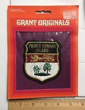 NIP Prince Edward Island PEI Canada Crest Flag Souvenir Grant Patch Badge