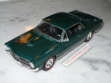 Welly Vintage 65 Pontiac Gto 389 Tri Power 1:24 Teal Or Gold You Choose