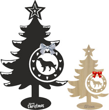 More details for brittany spaniel christmas tree and bauble xmas decoration dog breed spaniel