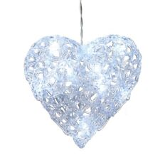 Stunning Ornate bright LED Heart by Heaven Sends