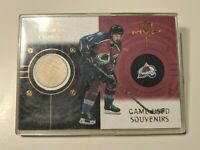 1999-00 Upper Deck MVP Game Used Souvenirs #GS-PF Peter Forsberg Avalanche Card