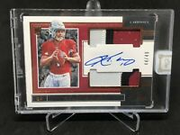 Kyler Murray One Panini RPA 44/49 Bronze Dual Patch Auto Sick Patches. HOT! SSP!