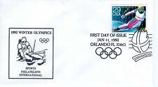 OLYMPIC GAMES DOWNHILL SKIING,  ORLANDO, FL  1992   FDC10629