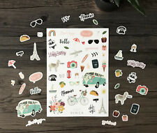 Fun Decorative Stickers Planner Scrapbooking Diary Organiser Bullet Journal