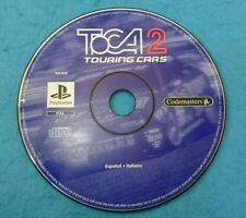 SONY PLAYSTATION 1 PS1 JUEGO PAL SOLO DISCO - TOCA 2 TOURING CARS