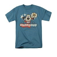 UNDERDOG FLYING LOGO Licensed Adult Men's Graphic Tee Shirt SM-5XL