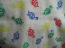 Baby Changing Pad Mat Soft Absorbent  colorful turtle design 29 x 15.5