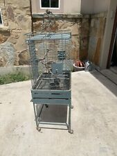 New listing Segawe P011230Gsd2012 59 inch Rolling Bird Cage with Stand