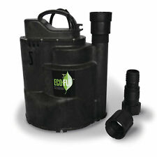 Eco Flo Sup59 12 Hp 115v 2520 Gph Automatic Submersible Utility Sump Water Pump