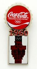 Pin Spilla Olimpiadi Torino 2006 - Coca-Cola Tappo Roma
