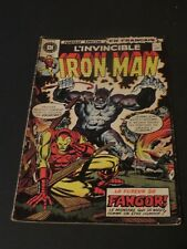 1972 INVINCIBLE IRON MAN NO.11 HERITAGE EDITIONS CANADIAN VARIANT IN FRENCH
