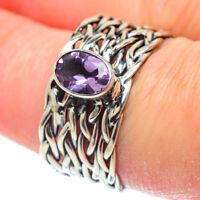 Amethyst 925 Sterling Silver Ring Size 8 Ana Co Jewelry R51884F