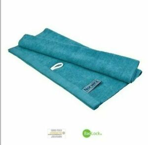 "NORWEX Teal Hand Towel w/ BacLock 27.56"" x 13.78"" - BRAND NEW!"