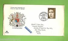 #D157. 1969 AIR MAIL ENVELOPE, CARNARVON  TO SYDNEY, PRINCE OF WALES