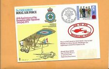 ROYAL AIR FORCE NO 5 SQUADRON 60th ANNIV OF FORMATION 1973 REFUELING FLOWN IN