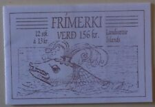 Iceland Stamp 648-51B Booklet MNH Cat $9.00