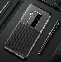 For Motorola One Zoom Classic Carbon Fiber Soft Shockproof Cover Case Skin